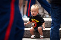 Marine pride starts young (U.S. Marine Corps photo by Cpl. Chelsea Flowers)