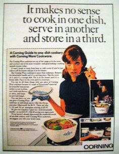 If I ever wrote a second blog, it would be an ode to my favorite cookware, Corning Ware, and all the things I do with it. My mom got me hooked on Corning Ware when I was a 20-something setting up my first house...