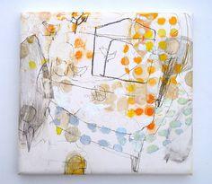 Denshin poppo (2009) Oil on canvas, pigment, ink, 460x440x40mm | Flickr: partage de photos!