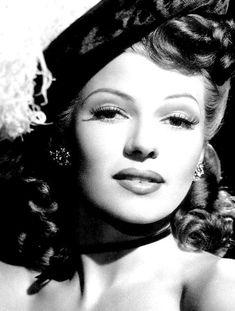 """Rita Hayworth, circa mid-1940s. """