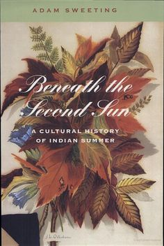 """""""Beneath the Second Sun"""" ~ a cultural history of Indian summer. Cool Books, New Books, Beautiful Cover, Indian Summer, Old Ones, Hallows Eve, Native American Indians, Autumn Leaves, Cover Art"""