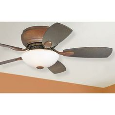 "44"" Casa Habitat Oil-Rubbed Bronze Hugger Ceiling Fan - #00844 | LampsPlus.com"