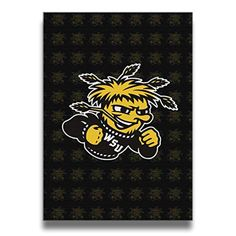 Wichita State Shockers Logo Canvas Frameless Paintings Decor - Brought to you by Avarsha.com