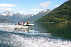 Olden - Fjord RIB Adventure - Explore the Nordfjord on board a high speed RIB, for a unique and exhilarating ride.