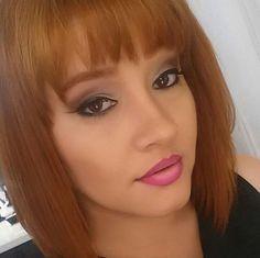 delineado e degradê nos lábios da @annioliveira, do Beauty Team da NYX Teresina