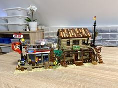 Lego Modular, Lego Building, Restaurant Bar, Seafood, The Neighbourhood, Two By Two, Beach, Places, Buildings
