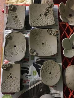 Good Free of Charge Slab Pottery planters Thoughts Bildergebnis für Amy Sanders Keramik Hand Built Pottery, Slab Pottery, Ceramic Pottery, Pottery Art, Pottery Sculpture, Ceramic Soap Dish, Ceramic Clay, Ceramic Plates, Soap Dishes