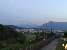 Blick von Maria Plain auf Salzburg Salzburg, Paris Skyline, Travel, Environment, Viajes, Destinations, Traveling, Trips