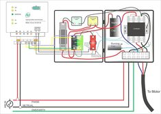 Single phase 3 wire submersible pump control box wiring
