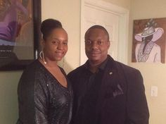The hubby (not at the time of the pic) and I. #blacklove