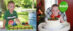 Country Birthday Party Ideas | enough to attend not one, but two tractor themed birthday parties ...