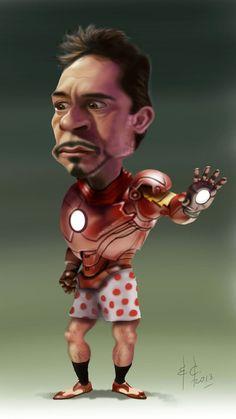 Robert Downey Jr. by StudioCandia on DeviantArt