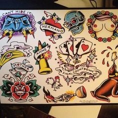 Arrested Development tattoo flash art