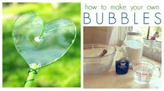 How to Make Your Own Bubbles