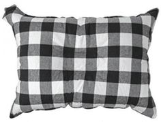 The Big E-ZZZ XL Camp Pillow - Large 20 in. by 14 in. Travel Pillow with Microfiber Coating (Black) The Big E, Camping Pillows, Comfortable Pillows, Pillow Reviews, Best Pillow, Camping Activities, Camping Equipment, Go Camping, Good Night Sleep