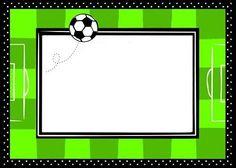 invitaciones de futbol para cumpleaños