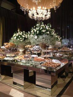 Casamento mesa de doces
