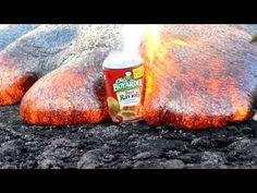 Magma con raviolis.  Hawaii Kilauea Volcano Puu Oo Vent Lava Flow Nikon D800 - YouTube