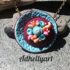 Sporya necklace - Cernit
