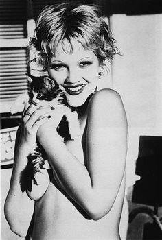 Drew Barrymore #cat #kitten
