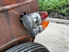 5 Custom Tail Lights You'd Surely Love - Bike Regal Raptor, Rat Rod Build, R Cafe, Hood Ornaments, Kustom, Tail Light, Old Trucks, Bobber, Car Parts