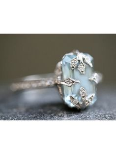 Aqua Forest Ring - Love Of My Life Collection
