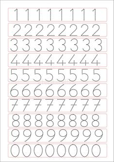 Trace the Dotted Lines Worksheets for Kids - Preschool and Kindergarten Tracing Worksheets, Printable Preschool Worksheets, Kindergarten Math Worksheets, Shapes Worksheets, Free Printable, Printable Shapes, Coloring Worksheets, Free Worksheets, Alphabet Worksheets