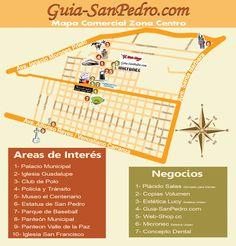Mapa: Zona Centro Guia-SanPedro.com   otoño 2012