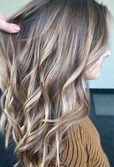 bronde balayage hair color idea 2017