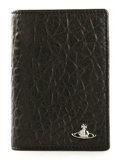 Vivienne Westwood / Logo Vertical Textured Cardholder
