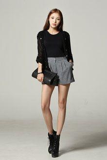 #korean fashion #shorts