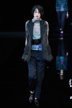 Pin for Later: Die 6 größten Trends aus Mailand  Emporio Armani Herbst/Winter 2015