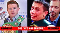 "GGG: ""CANELO HE'S NOT SERIOUS MW, 155 lbs. WHY NOT 140?"""