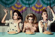 Glamour_Italy_April_2014_Greg_Lotus_Luma Grothe, Hailey Clauson & Britt