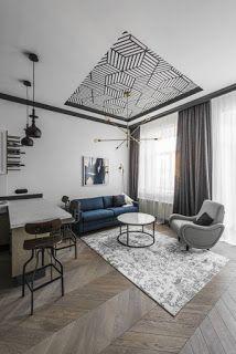 Marzua: Un apartamento moderno en un edificio antiguo