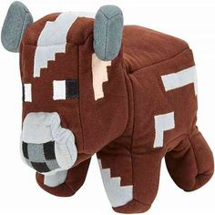 New Minecraft Brown Cow Pink Pig Reversible Plush Toys Soft Stuffed Dolls Pillow Cartoon Game Toys Children Gift All Toys, Toys For Boys, Minecraft Video Games, Minecraft Gifts, Play Minecraft, Mattel Shop, Kids Store, Plush Animals, Gifts For Kids