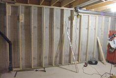 Framing started Wardrobe Rack, Basement, It Is Finished, Frame, Home Decor, Picture Frame, Decoration Home, Room Decor, Frames