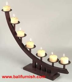 candle stick holder Wooden Candle Holders Candle Stands Made in Indonesia by Balifurnish Wooden Candle Holders, Candlestick Holders, Candlesticks, Candleholders, Support Bougie, Chandeliers, Wrought Iron Decor, Diy Candles, Beeswax Candles