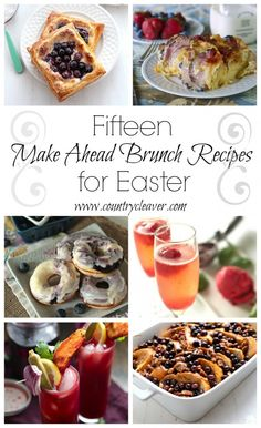 15 Make Ahead Brunch Recipes for Easter - www.countrycleaver.com.jpg @Megan {Country Cleaver}