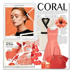 """Coral"" by constellationz ❤ liked on Polyvore featuring Anja, Humble Chic, Miss Selfridge, Yumi, Neiman Marcus, Bar III, Michael Kors, women's clothing, women and female"
