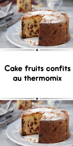 Candied fruit cake with thermomix Vegan Fruit Cake, Rum Fruit Cake, Chocolate Fruit Cake, Fresh Fruit Cake, Fruit Birthday Cake, Fruit Wedding Cake, Thermomix Desserts, No Cook Desserts, Fruit Cake Design