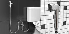 Com design prático e funcional, as duchas higiênicas Blukit apresentam dimensões compactas e proporcionam o bom aproveitamento dos espaços. São a opção ideal para aqueles que se preocupam em facilitar a higiene das áreas íntimas. Para água fria ou quente, as duchas higiênicas têm controle preciso da vazão de água, garantindo mais economia para você e para o planeta.