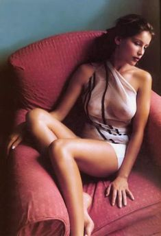 """Laetitia Casta - is a French actress and model.She became a """"GUESS? Girl"""" in 1993 and gained further recognition as a Victoria's Secret Angel from 1998 to 2000 and as a spokesperson for cosmetics company L'Oreal."""