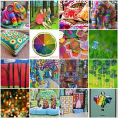 what an *amazing* compilation of COLOR CREATIONS from many artists and places!