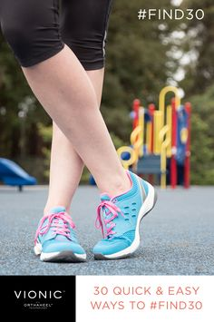 30 quick tips to #Find30 minutes of activity, no matter what your day holds! #exercise #walking #fitness #weightloss #tips #vionicshoes