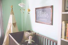 Fletcher's Nursery - Made With Mint   Little Gatherer