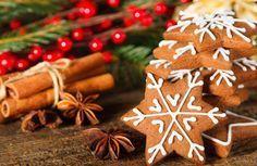 Recept voor heerlijke kerstkoekjes met steranijs Cozy Christmas, Christmas Is Coming, Xmas, Potpourri, Winter Holidays, Windows 10, No Bake Cake, Gingerbread Cookies, Cookie Recipes