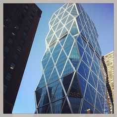 Hearst Tower on a sunny spring day (Instagram photo by @Erin McHenry Foster)