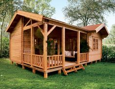 Lugarde Rio holiday home log cabin