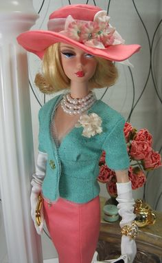 Brenda your work is ever so stunning. Marzipan for Silkstone Barbie by Matisse Fashions.